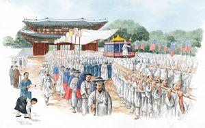 корейское захоронение